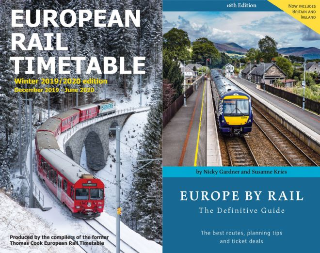Winter 2019/2020 & <br> Europe by Rail BUNDLE